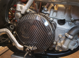 Carbon Fiber Clutch Cover - Suzuki RM250 96 - 08
