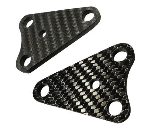 Carbon Fiber Engine Mounts - Suzuki RM250 01-08