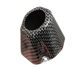 Factory Series Carbon Fiber End Cap - Rocket Exhaust