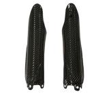 Carbon Fiber Fork Guards - Yamaha 08-14