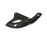 Carbon Fiber Rear Disc Guard - Yamaha