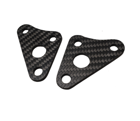 Carbon Fiber Engine Mounts - Yamaha YZ250 02-20