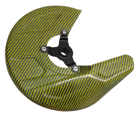 Carbon Fiber Front Brake Disc Guard Kit - Suzuki 05-18