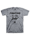 Til This Day Tee (Black, Red, Grey)
