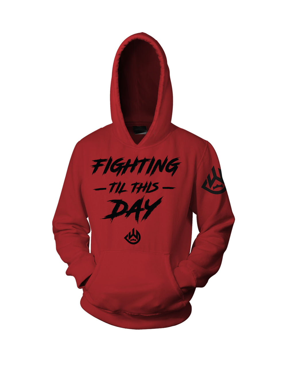 Til This Day Hoodie (Red)