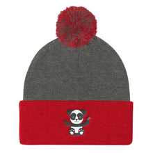 Load image into Gallery viewer, Panda (USA) Cute Pom Pom Knit Cap