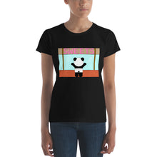 Load image into Gallery viewer, Panda Sweet Shop Women's Fashion Fit Short Sleeve T-Shirt