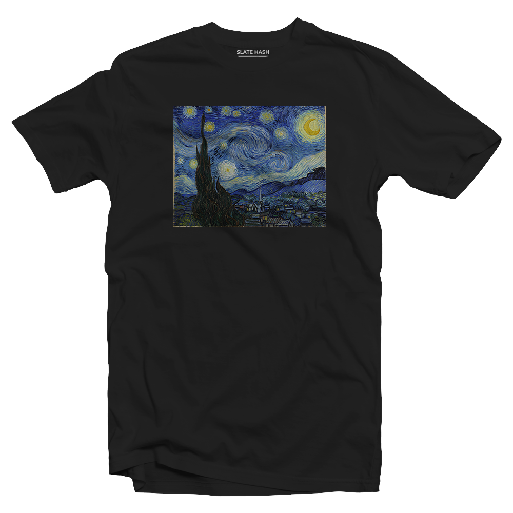 The Starry Night - Vincent Van Gogh T-shirt