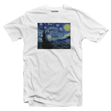 Load image into Gallery viewer, The Starry Night - Vincent Van Gogh T-shirt