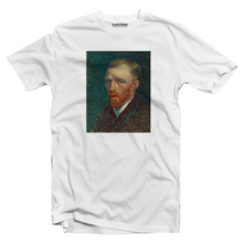 Load image into Gallery viewer, Vincent Van Gogh portrait T-shirt