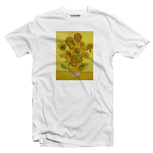 Vase with Fifteen Sunflowers - Vincent Van Gogh T-shirt