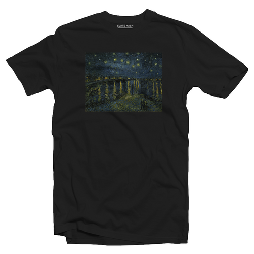 Starry Night Over the Rhône - Vincent Van Gogh T-shirt