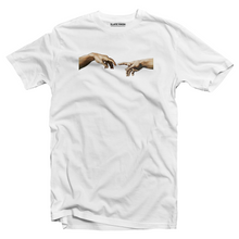 Load image into Gallery viewer, Hands of Adam - Michelangelo T-shirt
