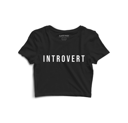 Introvert Crop Top