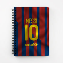 Load image into Gallery viewer, Messi Notebook