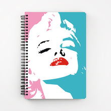 Load image into Gallery viewer, Marilyn Notebook