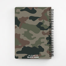 Load image into Gallery viewer, Dark Camouflage Notebook