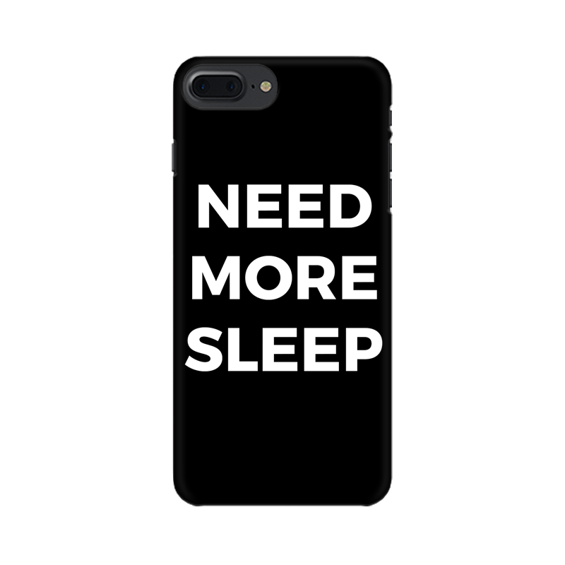 NEED MORE SLEEP CASE (BLACK)