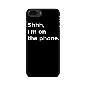 ON THE PHONE CASE (BLACK)