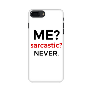 SARCASTIC CASE (WHITE)