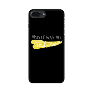 COLDPLAY YELLOW CASE