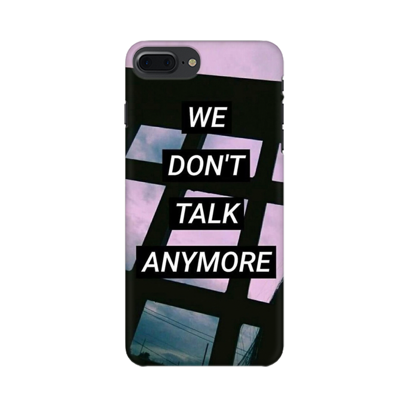 WE DON'T TALK ANYMORE CASE