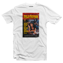Load image into Gallery viewer, Pulp Fiction poster T-shirt