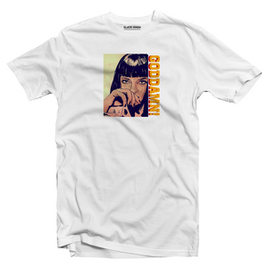 Mia Wallace Goddamn Pulp Fiction T-shirt