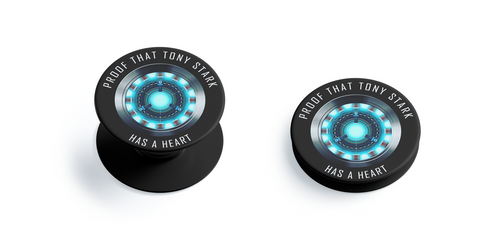 Iron Man Arc Reactor Pop Grip