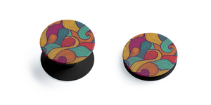 Abstract Pattern Pop Grip