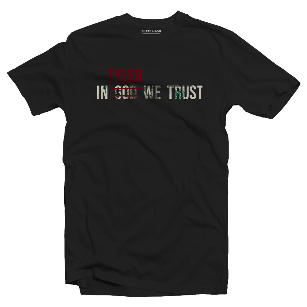 IN TYLER WE TRUST - Fight Club T-shirt