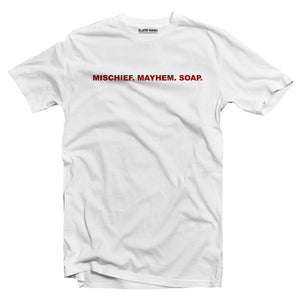 MISCHIEF MAYHEM SOAP - Fight Club T-shirt