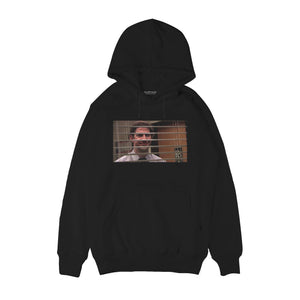Smiling through the blinds - Jim Halpert - The Office Hoodie