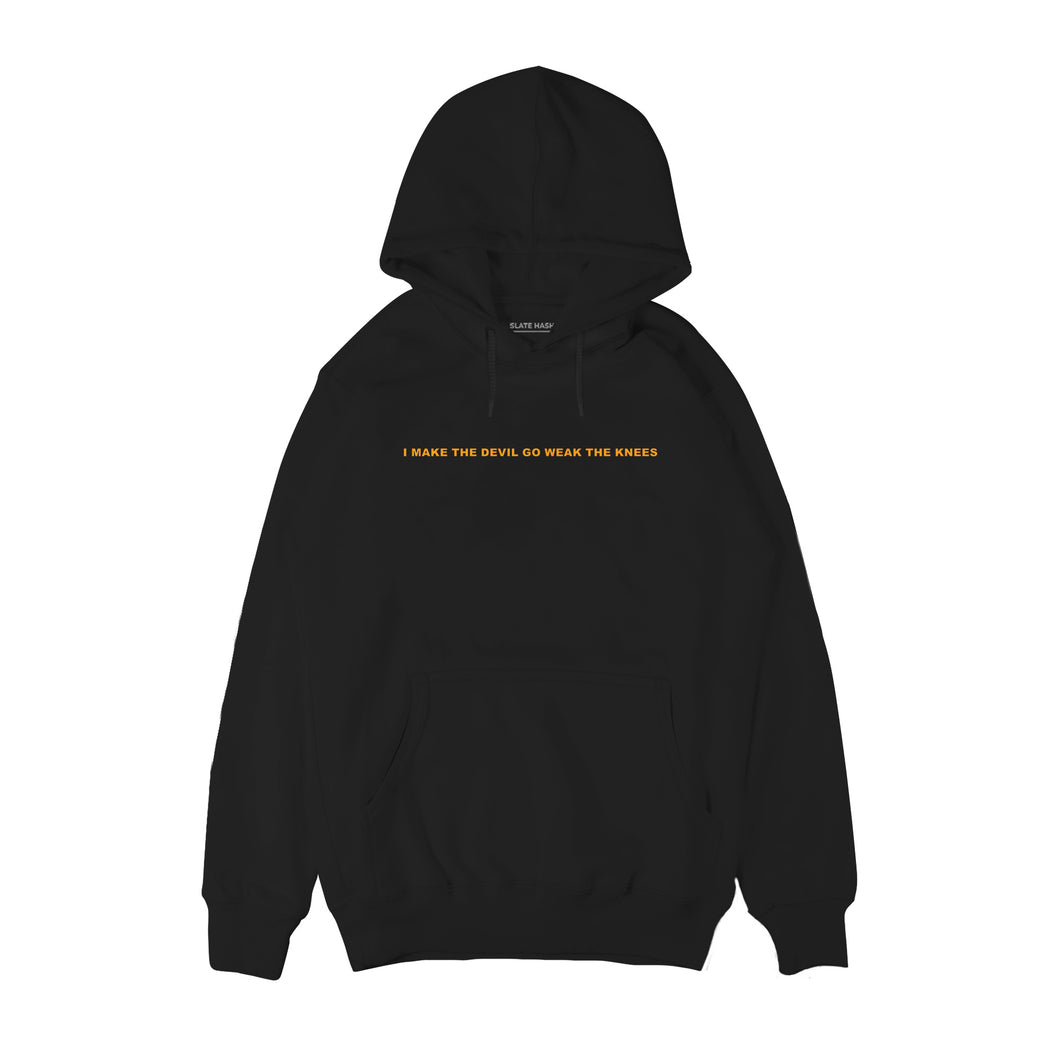 I make the devil go weak the knees - Asap Rocky Hoodie