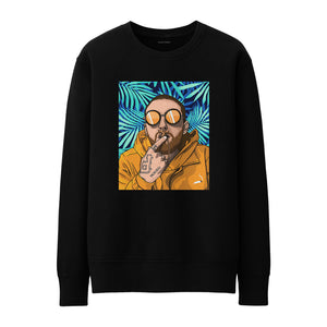 Mac Miller Portrait Sweatshirt