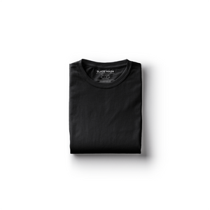 Black Plain T-Shirt
