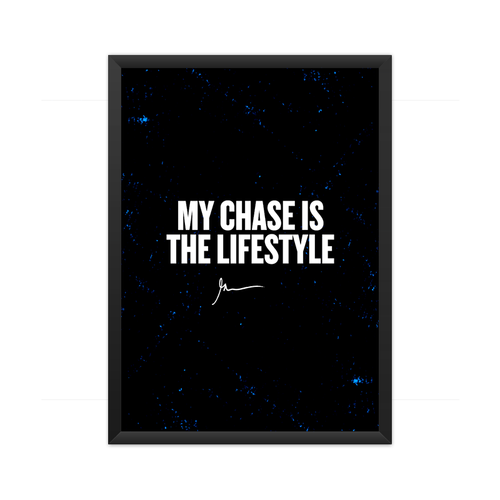 Chase lifestyle Framed Poster