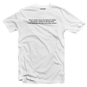 Power is a curious thing T-shirt