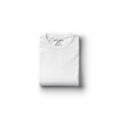White Plain T-Shirt