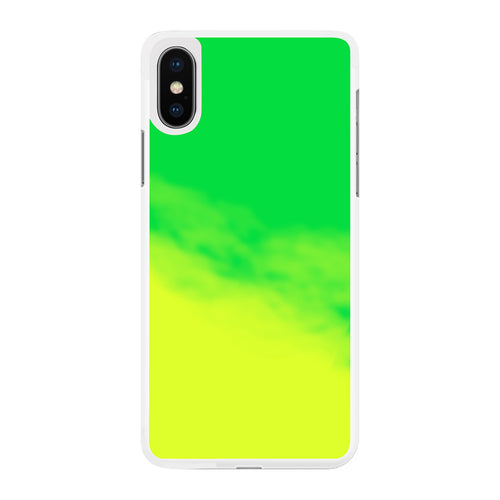 Neon Sand Case for iPhone X