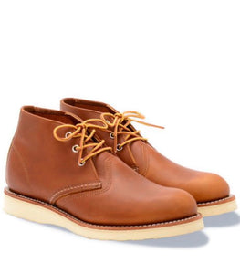 Red Wing Chukka Oro-iginal Leather