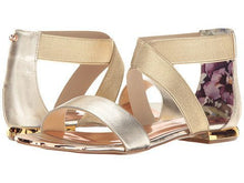 Load image into Gallery viewer, Ted Baker Laana Gold Sandal