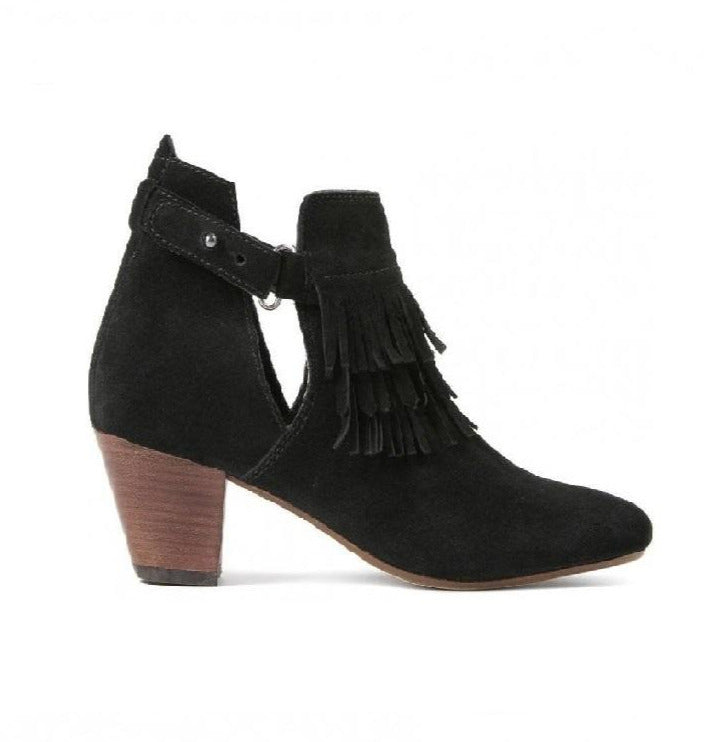Hudson of London Neeka Black Boot Black (6  Black)