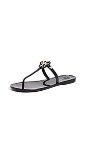 Tory Burch Mini Miller Jelly Sandal Black