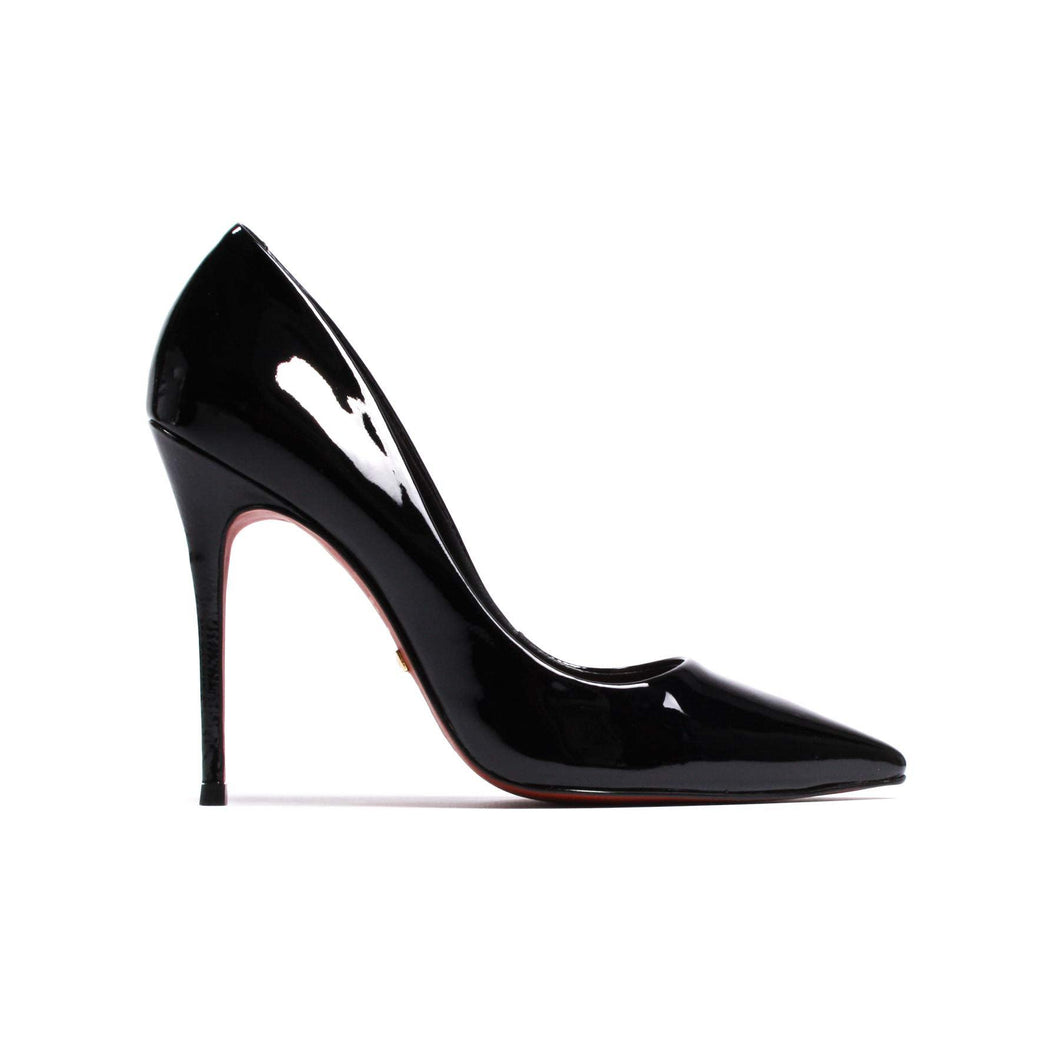 L'intervalle Teeva Black Patent Pump
