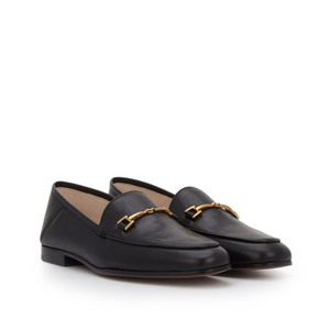 Sam Edleman Loraine Bit Loafer (7, Black Leather)