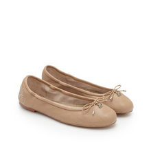 Load image into Gallery viewer, Sam Edleman Felicia Ballet Flat (5, Classic Nude Leather)