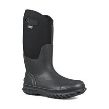 Load image into Gallery viewer, Bogs Women's Classic High Handles Insulated Boots (Black Smooth)