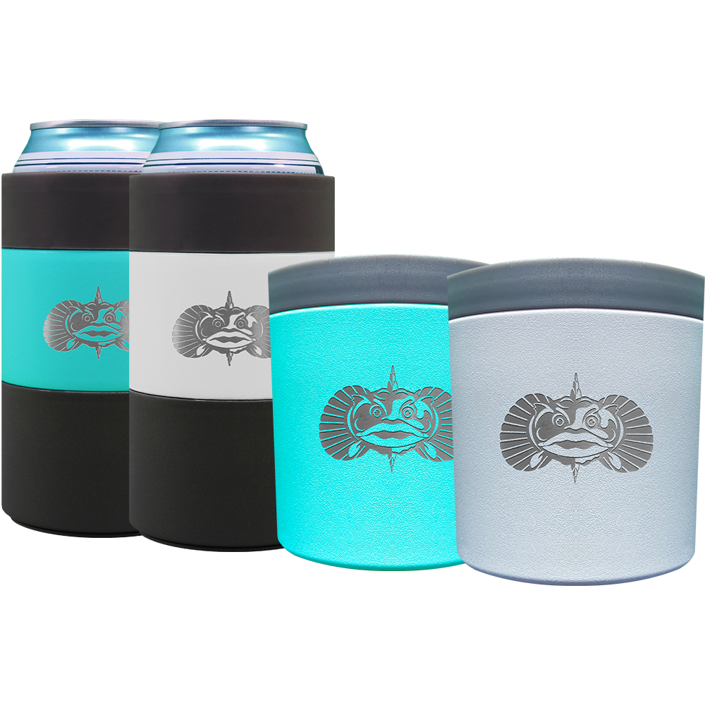 4 Pack Variety Bundle - 2 Can Coolers & 2 Anchors