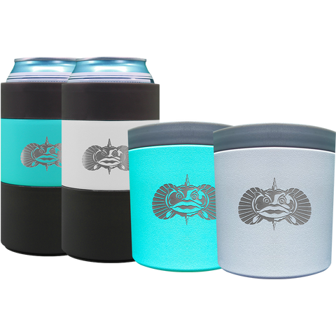 Non-Tipping 16oz Tall Can Cooler